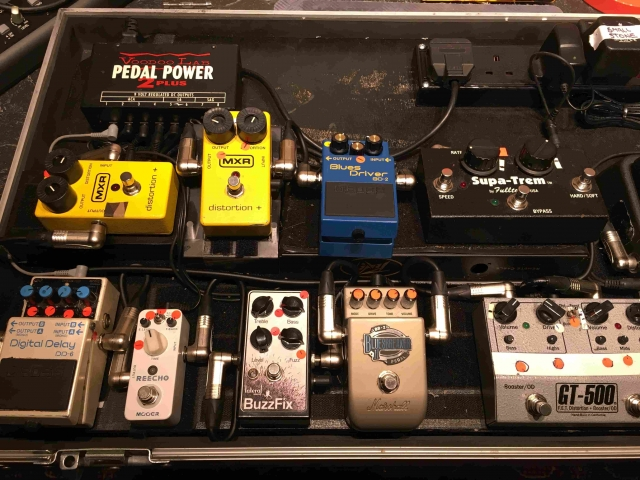 The Coral - Rewired Pedal Board